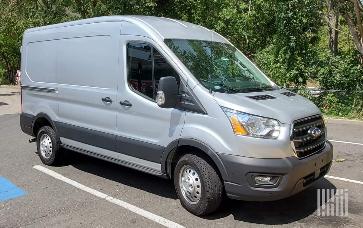 Ford Transit visibility