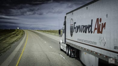 Photo of Forward's less-than-truckload service added to more terminals