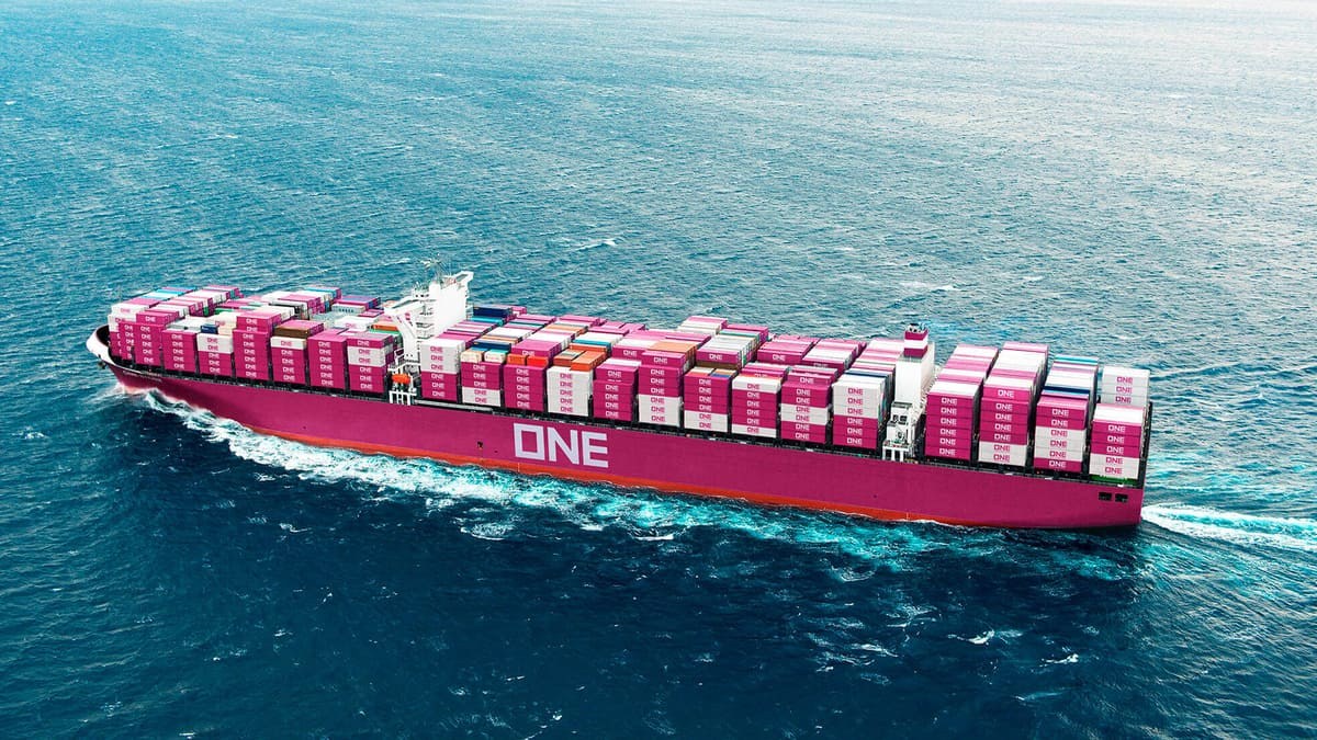 container ship of NYSHEX carrier