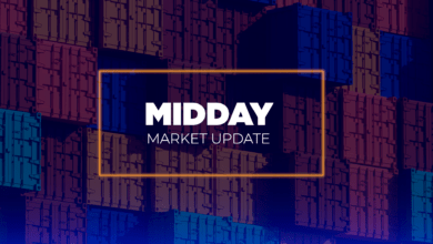 Photo of The state of capacity on land and by sea – Midday Market Update (with video)