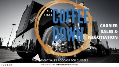 Photo of Carrier sales and negotiation – Put That Coffee Down (with video)