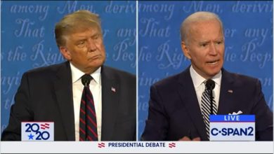 Photo of Trump and Biden clash over fuel emissions, electric vehicles in first debate