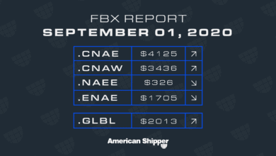 Photo of FBX Report: September 1, 2020