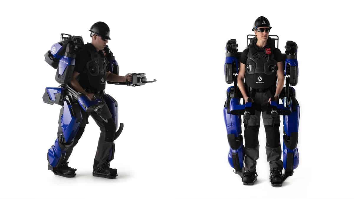 Sarcos wearable robots