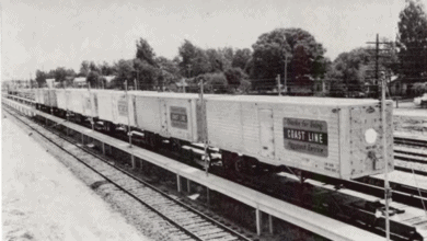 Photo of FreightWaves Flashback 1963: Rail piggyback captures 9.3% of citrus movement in two years