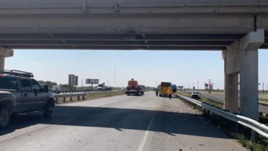 Photo of Two oversize trucks hit same Texas bridge