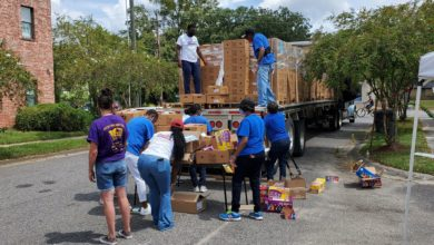 Photo of Disaster relief trucking organization delivers hope to survivors