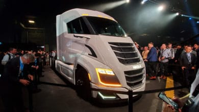 Nikola Two hydrogen fuel cell truck