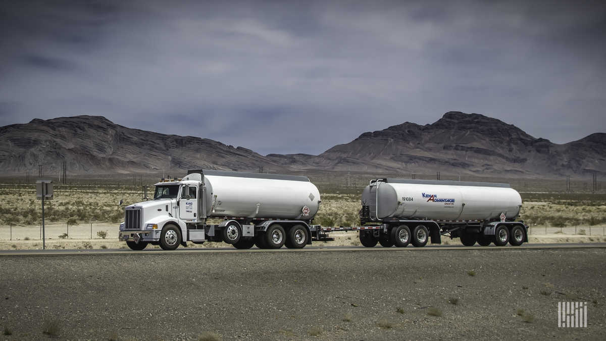 A tank truck of Kenan Advantage Group, which acquired Canadian firm Beaulac Transport