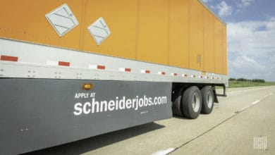 Photo of Schneider shifts to some off-site orientation for its new drivers
