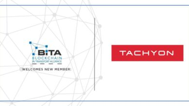 Photo of Tachyon joins Blockchain in Transport Alliance