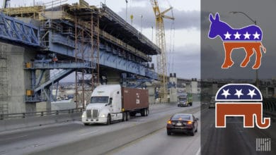 Photo of Election 2020: Road ahead for trucking infrastructure hinges on Nov. 3