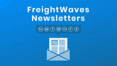 Photo of Daily Infographic: FreightWaves newsletters
