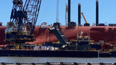 Photo of Golden Ray dismantling delayed again