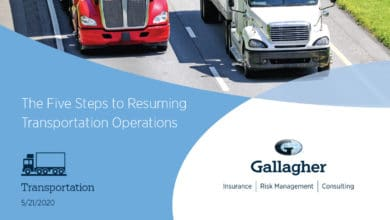 Photo of White Paper: The Five Steps to Resuming Transportation Operations