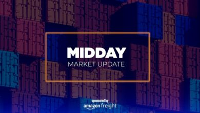 Photo of What Prime Day means for ocean freight – Midday Market Update (with video)