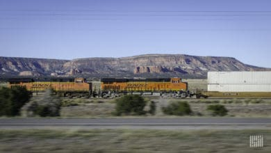 Photo of North Dakota officials celebrate new intermodal service