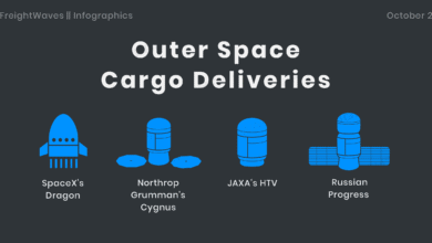 Photo of Daily Infographic: Outer space cargo deliveries