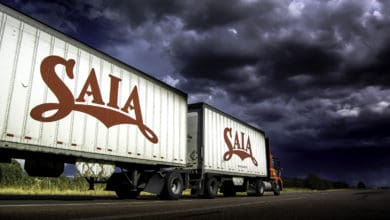 Photo of Saia's record OR driven by higher yield on small revenue increase