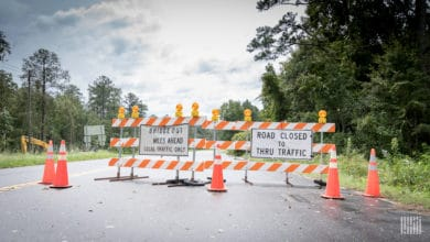Photo of Roads remain closed days after Hurricane Delta leaves Gulf Coast (with forecast video)