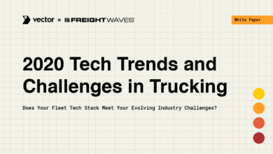 Photo of White Paper: 2020 Tech Trends and Challenges in Trucking