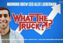 Photo of Morning Brew CEO Alex Lieberman – WHAT THE TRUCK?!? (with video)