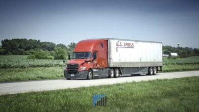 Photo of U.S. Xpress OR improves; driver squeeze limits miles driven