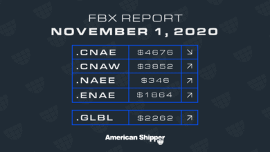 Photo of FBX Report: November 1, 2020