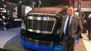 Photo of Cummins, Navistar developing fuel cell truck for Werner testing