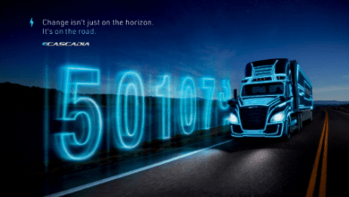 Photo of Daimler clicks collective 500,000 miles on electric truck odometers