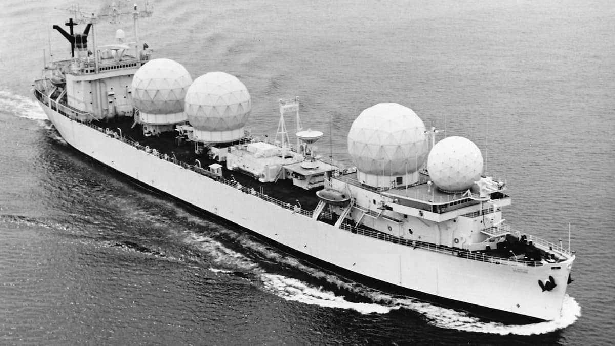 WWII ships converted for Apollo program