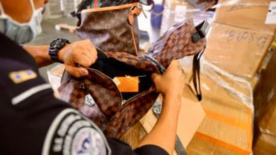Photo of $9.3M in fake handbags, shoes seized at DFW Airport