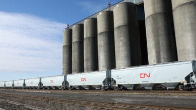 Photo of Canadian railways crush October grain records amid export boom