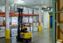 Photo of DHL unit builds `deep-frozen' room at Puerto Rico life science facility