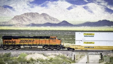 Photo of Commentary: Simple photos illustrate intermodal rail model