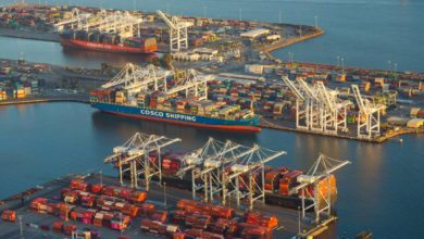 Photo of Port of Long Beach again breaks container record