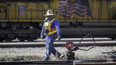 Photo of October US Class I rail headcount drops despite rising volumes