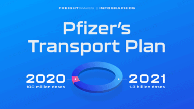 Photo of Daily Infographic: Pfizer's Transport Plan