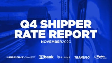 Photo of White Paper: 2020 Q4 Shipper Rate Report