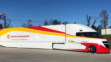 Photo of Shell Starship tractor-trailer ready for 2021 relaunch
