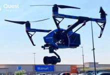 Photo of Texas Walmart uses drones to deliver COVID-19 tests