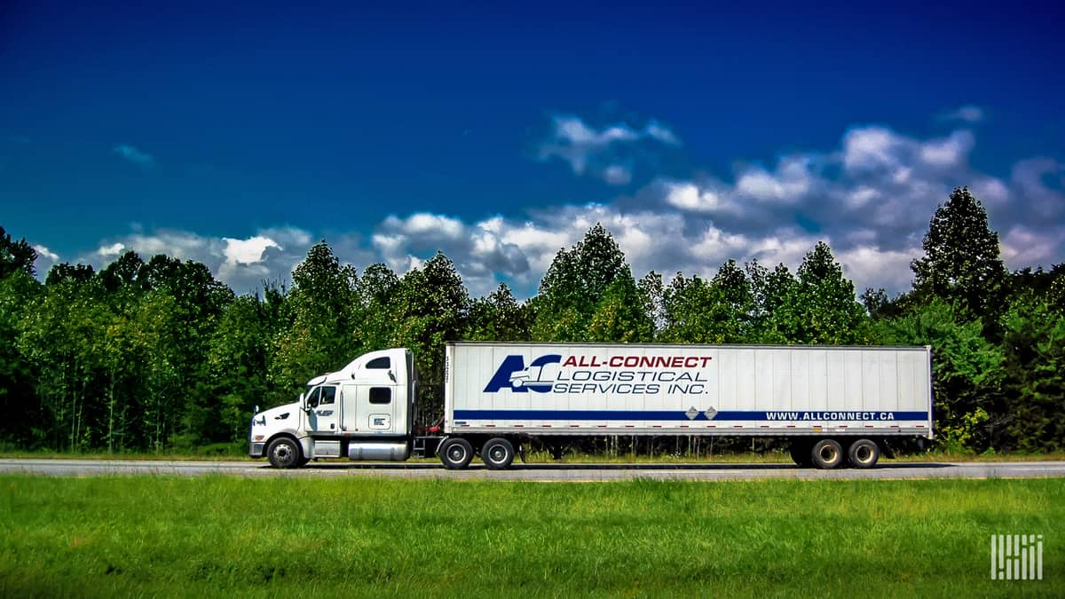 Headquartered in Ontario, All-Connect Logistical Services provides a number of cross-border trucking services.