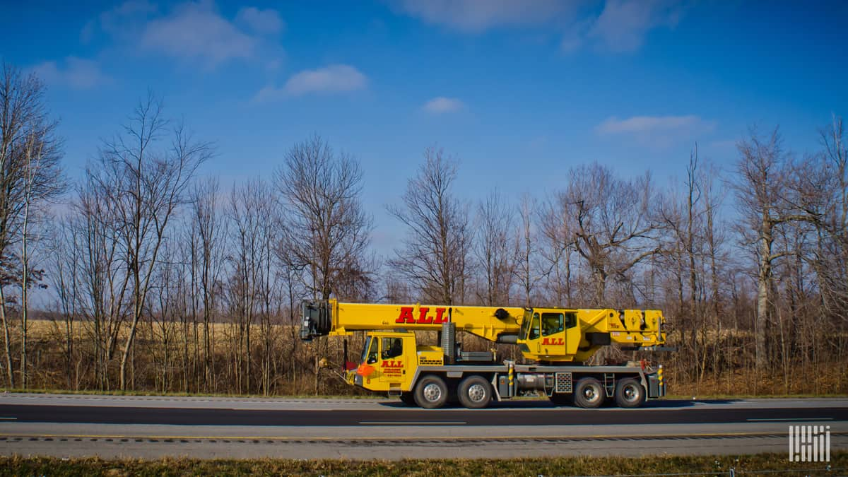 ALL Crane Rental specializes in equipment of this type.