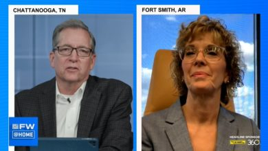 ArcBest CEO Judy McReynolds joins FreightWaves President George Abernathy at FreightWaves Live @Home