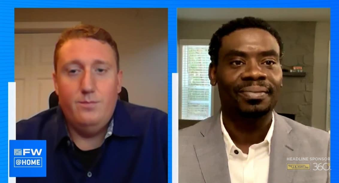 USI Insurance Services' Robert Haley and Fleeting's Pierre Laguerre discuss tips on risk mitigation for new carriers at FreightWaves LIVE @HOME