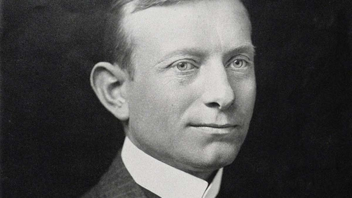 A.P. Møller in 1912. His hard work and vision created a global leader in transportation and logistics. (Photo: A.P. Møller - Mærsk)
