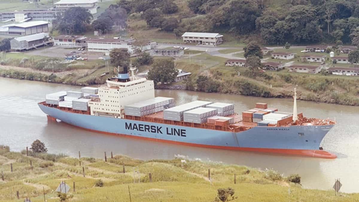 An early Maersk Line containership. (Photo: A.P. Møller - Mærsk)