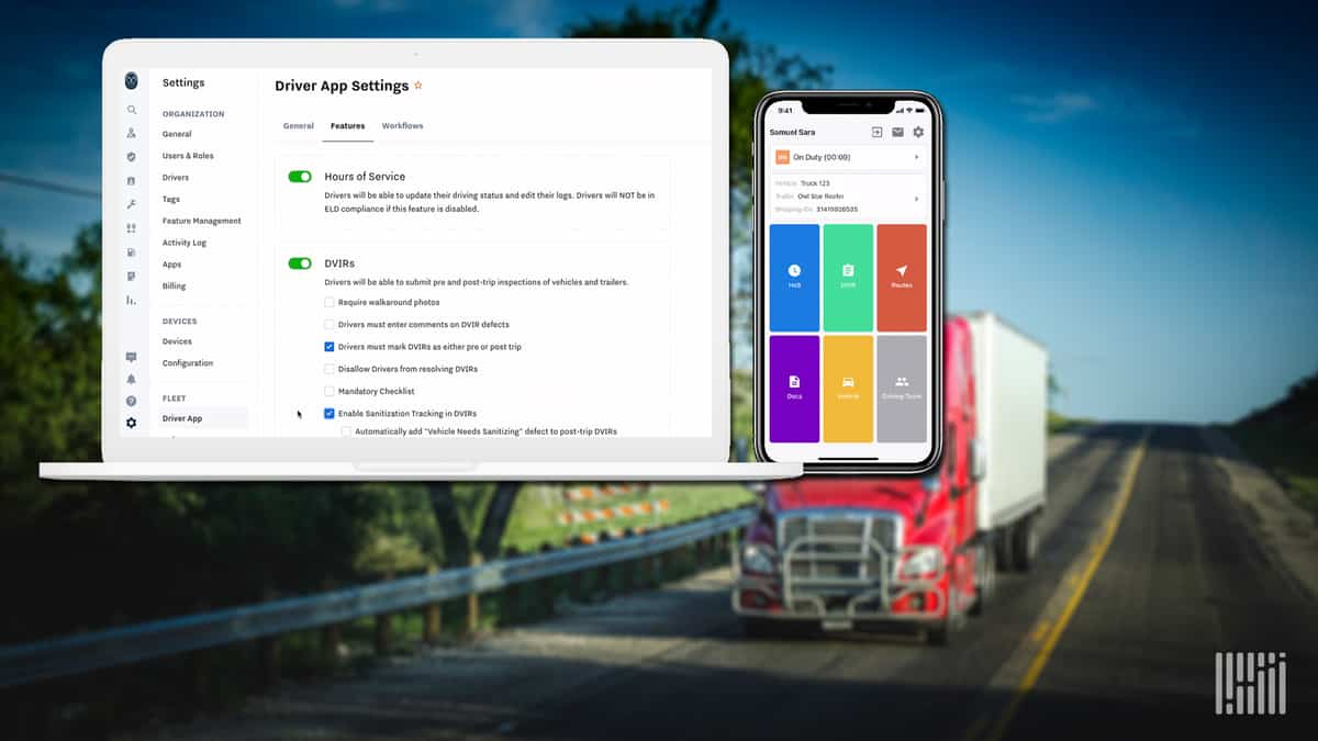 Samsara release new features for its Driver App.