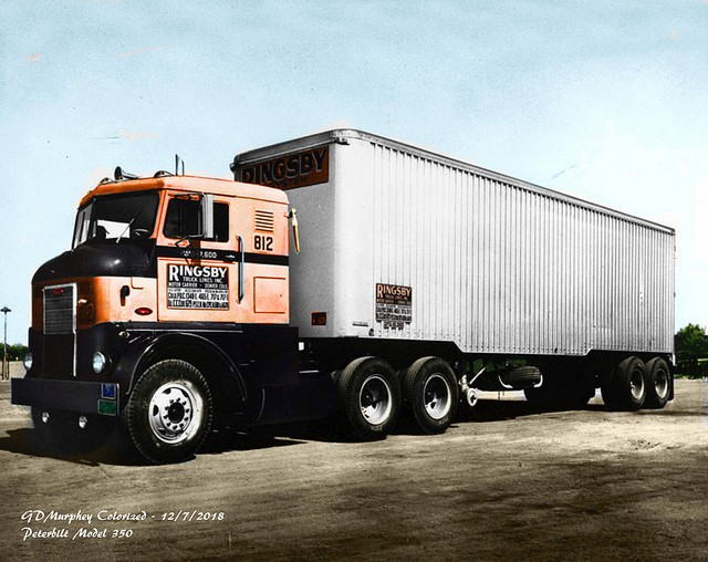 A parked Ringsby tractor-trailer combo. (Photo: Stan Holtzman)