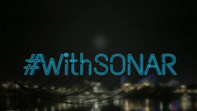 with sonar header